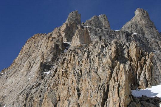 Le soleil actuel sèche rapidement les parois. La saison d'alpinisme estival va-t-elle s'ouvrir précocément ?