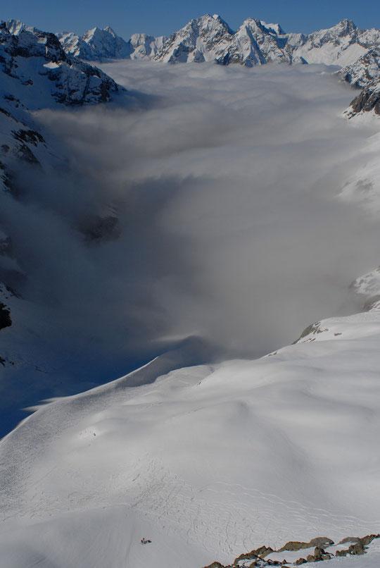 Pour notre dernier weekend là haut, il faisait grand beau au dessus de 2500m...