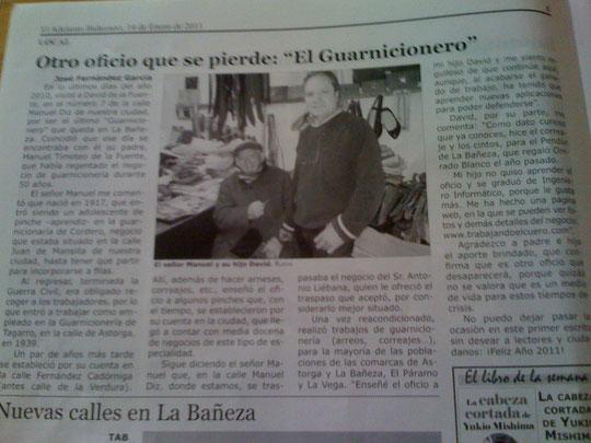 Guarnicionería de la Fuente en el Adelanto Bañezano