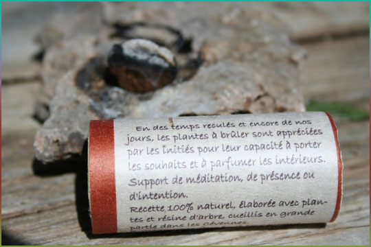 Encens naturel et artisanal ( ancien emballage )