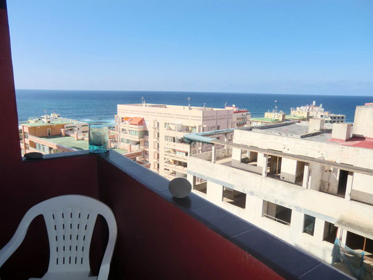 Meerblick vom Balkon im Apartment zur Langzeitmiete auf Tenenriffa
