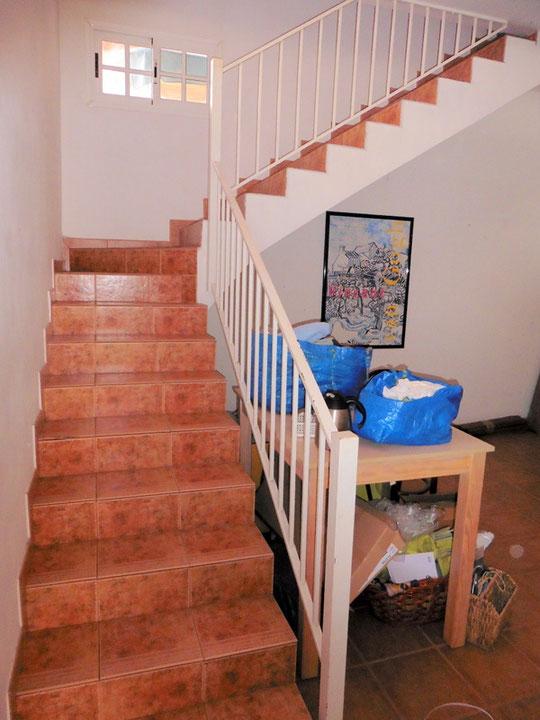 Zugang zum Office, Keller und Garage