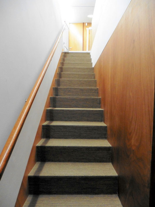 Treppenaufgang zum 2. Stock