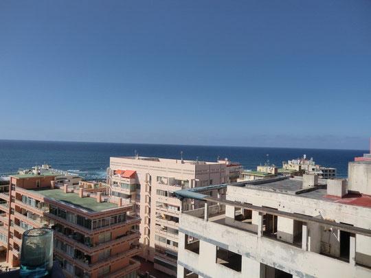 Preiswertes Apartment in Puerto de la Cruz mit Meerblick