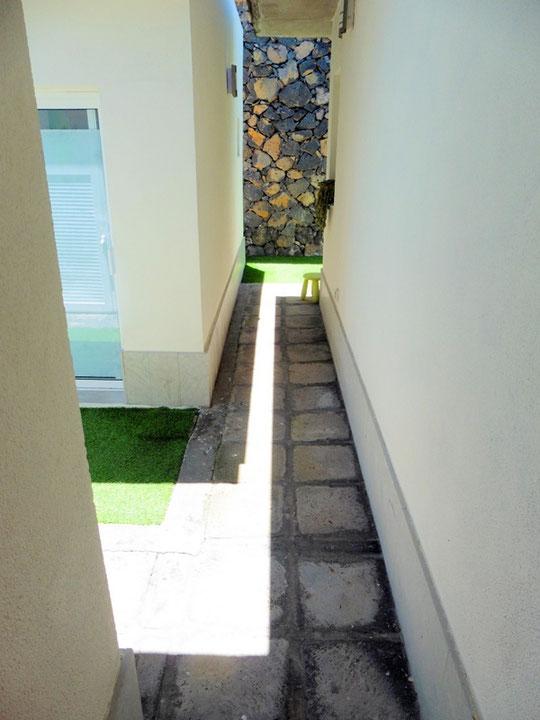 Zugang zum separaten Apartment