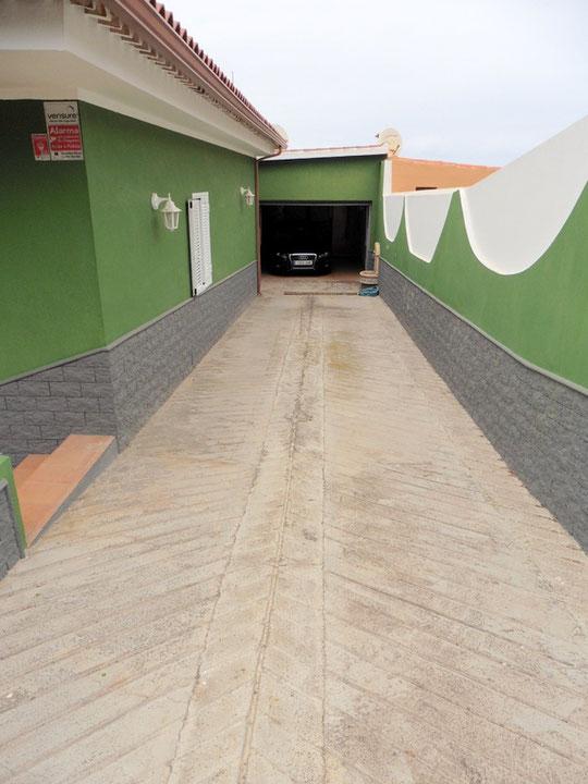 Zugang zur Garage