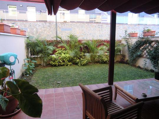 Terrasse Eingang