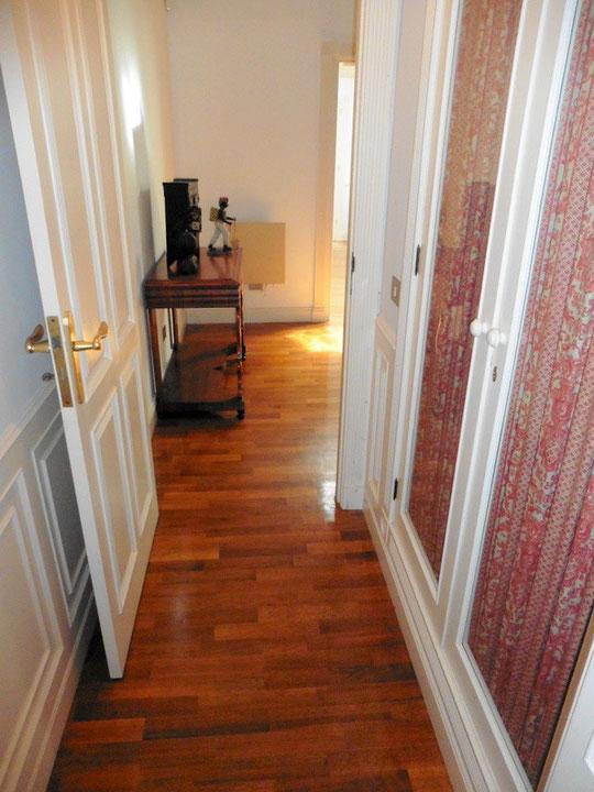 Zugang zum Wohnzimmer
