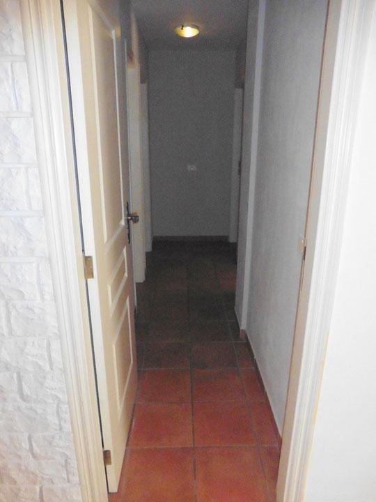 Zugang zu den Schlafzimmern und Badezimmern