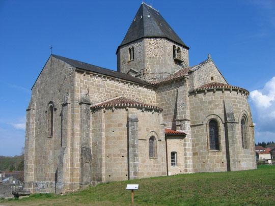 eglise romane de Malval- au pays des 3 lacs