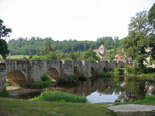 Pont roman au Moutier d'ahun