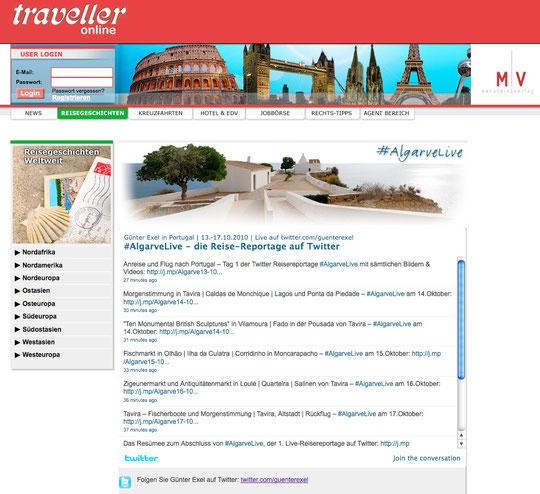 traveller online (nur Twitter)