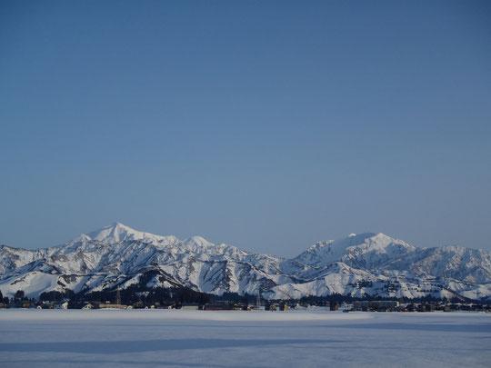 越後駒が岳と八海山