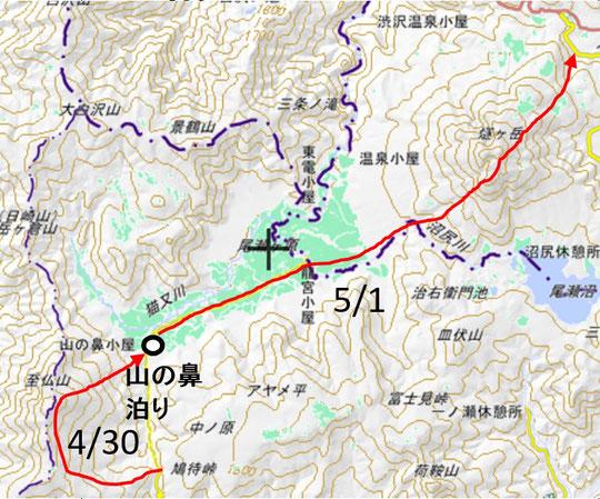 地図:国土地理院HPより