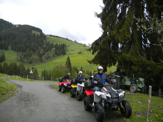 Bergblick Quad Tour