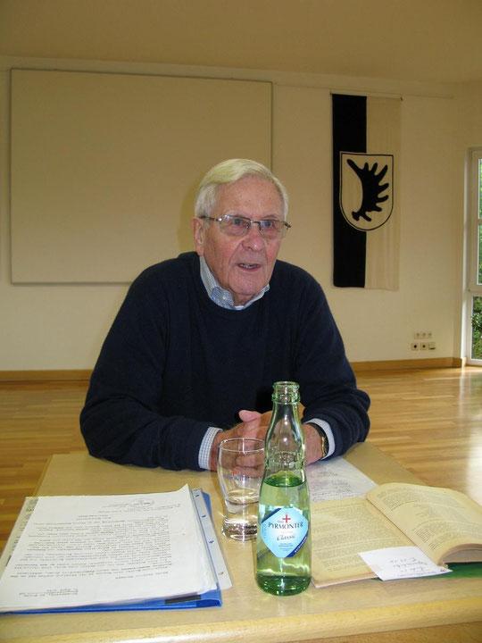 Zeitzeuge Heinz Bartschies