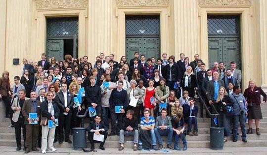 Todos los participantes de la IPO 2012
