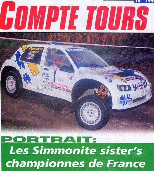 2001 - Compte Tours