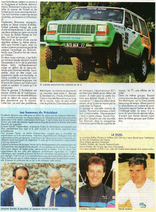 1991 - Compte Tours