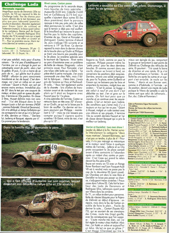 1995 - Rallyes Magazines - Cidre & Pommiers