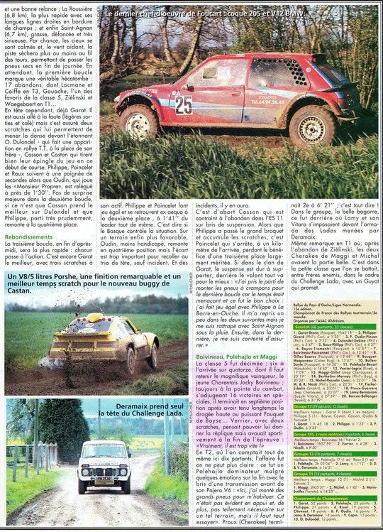 1995 - Rallyes Magazine - Pays d' Ouche