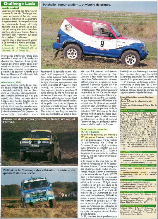 1995 - Rallyes Magazine - Dunes & Marais