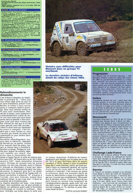 1993 - Rallyes Magazine