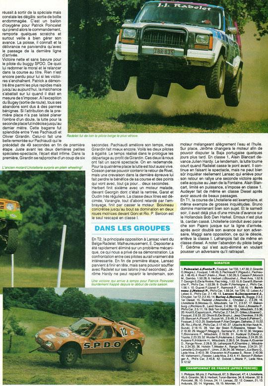 1993 - Compte Tours - Rallye du Perche