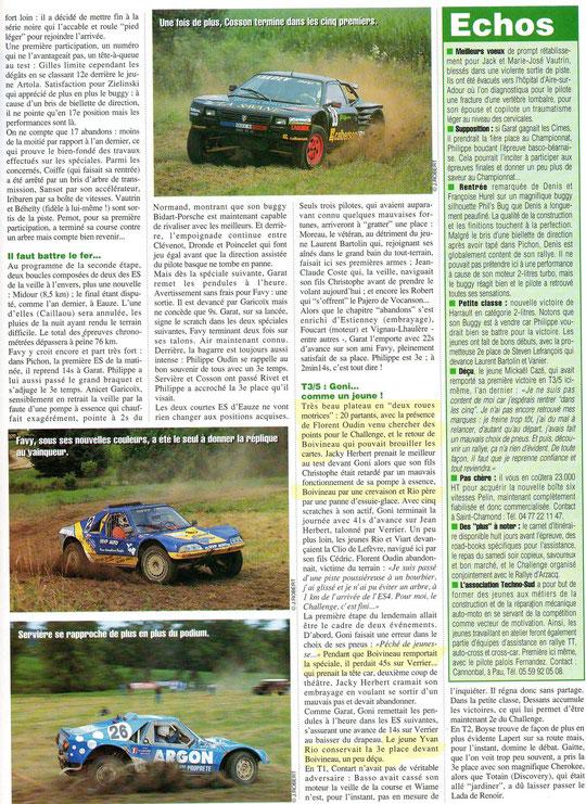 1997 - Rallyes Magazine - Gers Armagnac