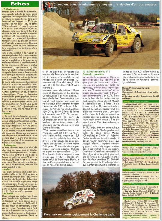 1995 - Rallye Magazine - Plaines & Vallées