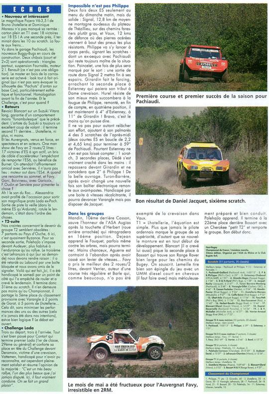 1994 - Rallyes Magazine - Haut Bugey