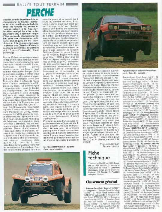 1988 - Echappement - Le Perche