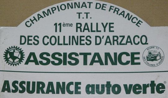 1993 - Rallye d' ARZACQ