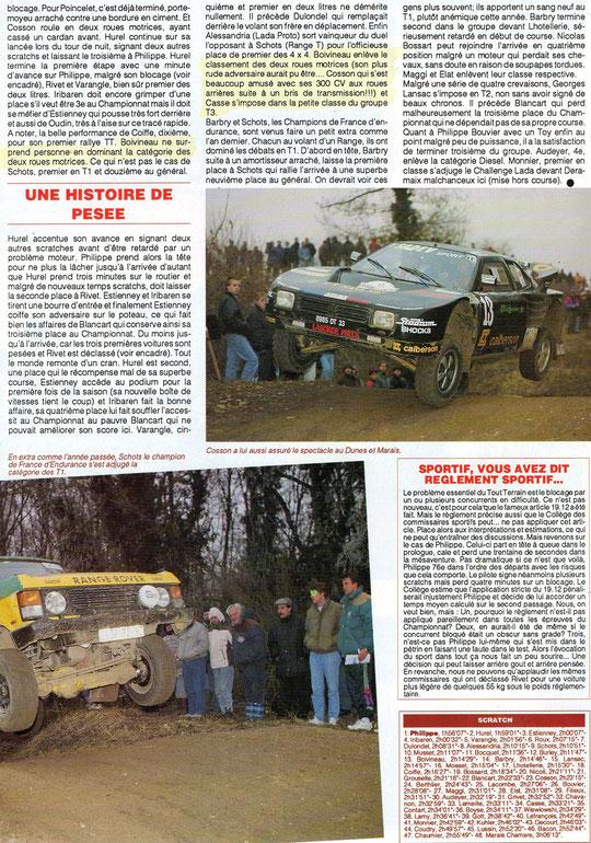 1993 - Compte Tours - Plaines & Vallées