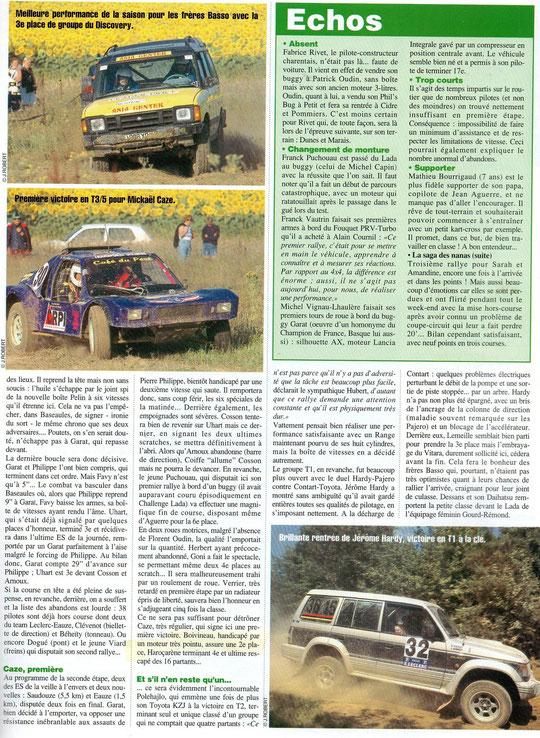 1996 - Rallyes Magazine - Gers Armagnac