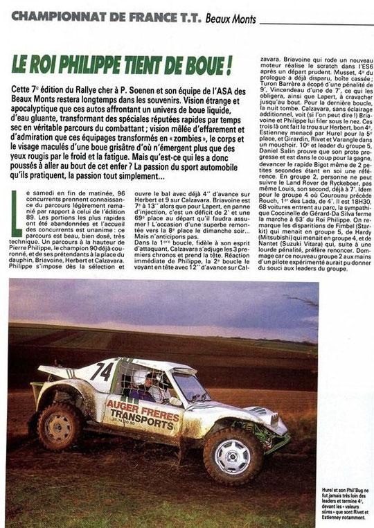 1990 - Rallye Beaux Monts