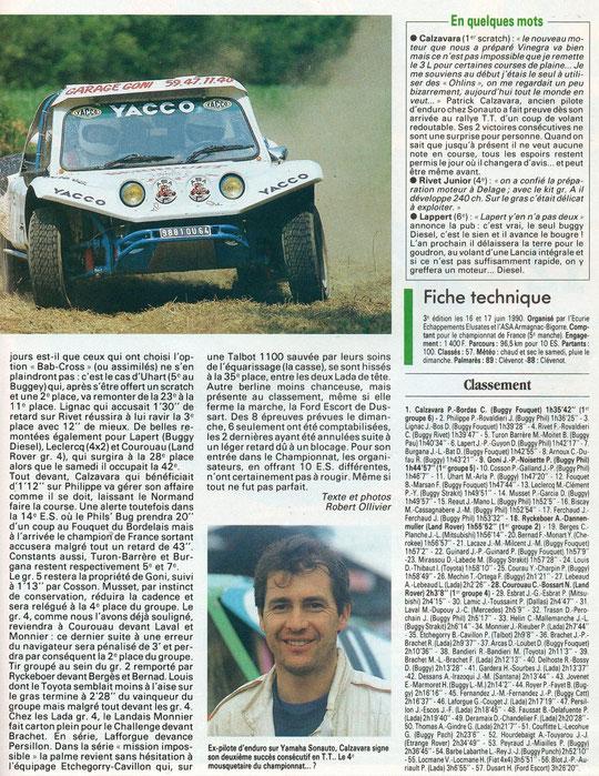 1990 - Echappement - Gers Armagnac