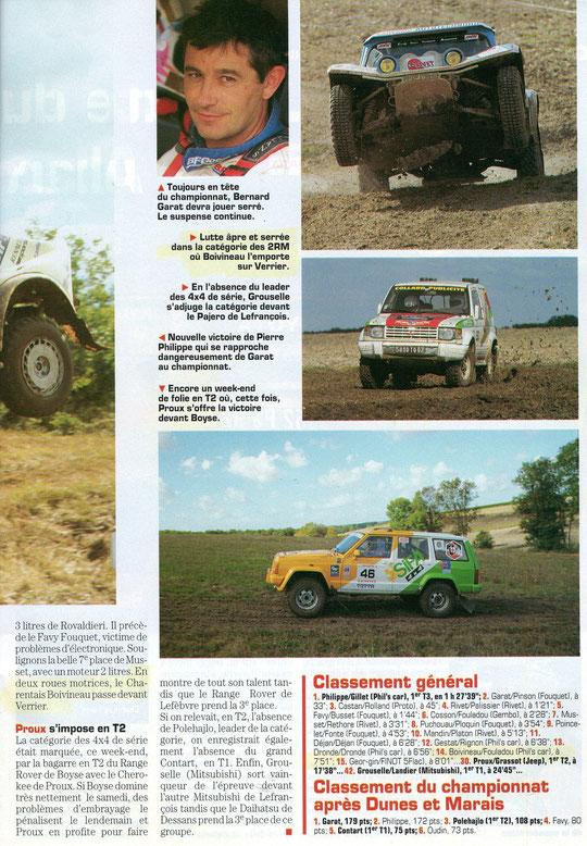1996 - Tout Terrain Magazines - Dunes & Marais