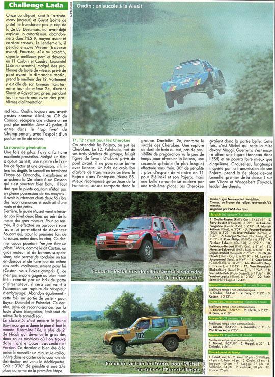 1995 - Rallyes Magazine - Le Perche