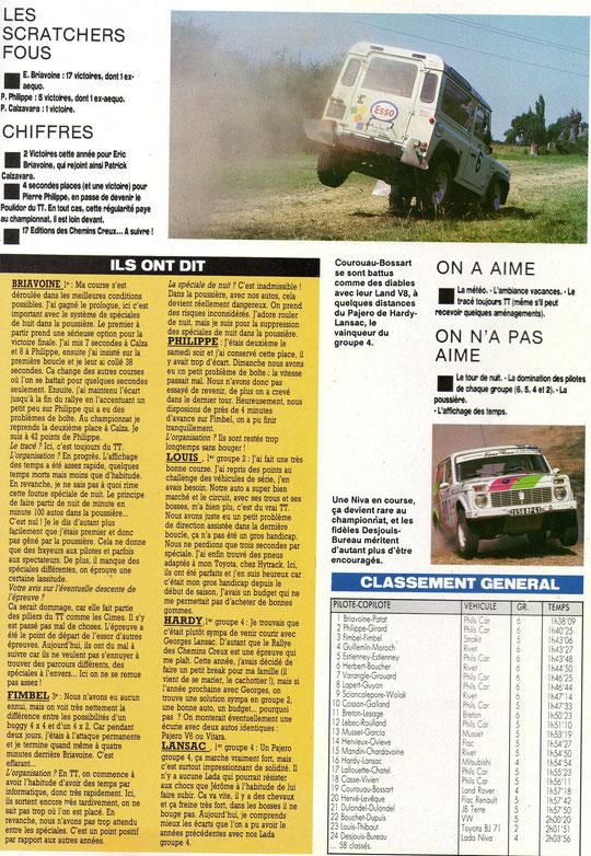 1990 - Auto Verte - Les Chemins Creux