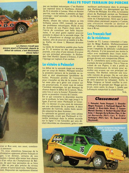 1993 - 4 x 4 Magazine - Le Perche