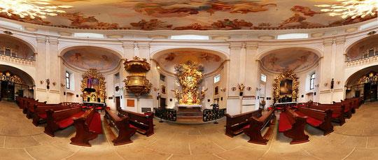 Christkindl Kirche - 360°  --->  zur Flash-Ansicht ins Bild klicken!
