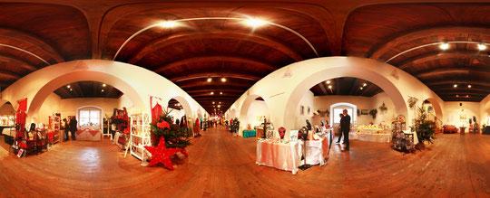 Weihnachtsausstellung im Schloß Lamberg  -  360°  --->  zur Flash-Ansicht ins Bild klicken!