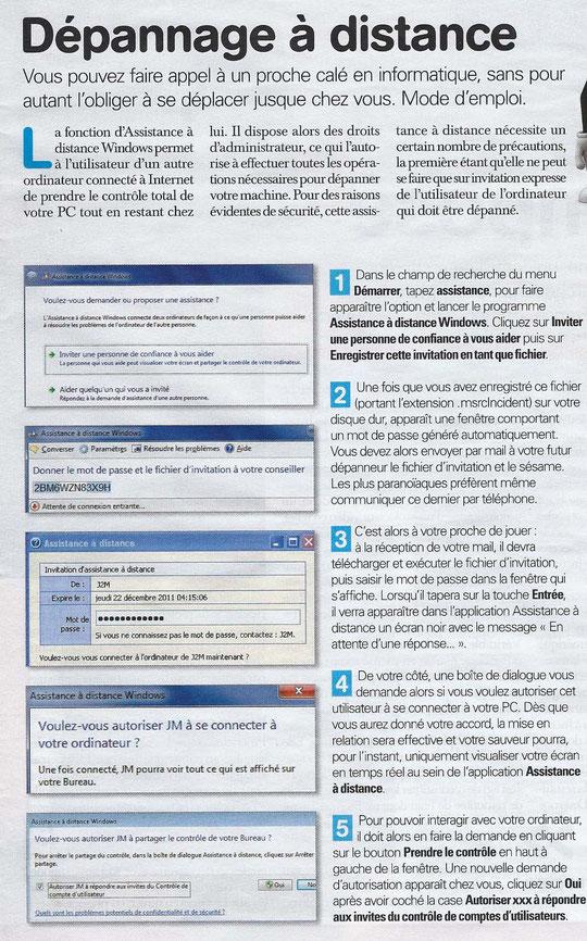 Micro hebdo du 12/01/2012