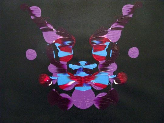 Ossessivo compulsivo - smalti su tela - 62 X 45 - 2011