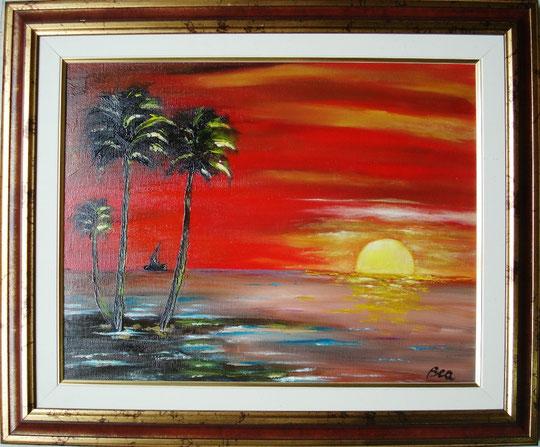 Beatrice Zanuccoli - Pace nell'anima - olio su tela - 45 X 35 - 2011