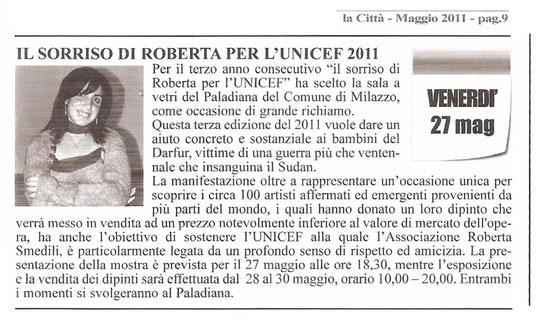 La città di Milazzo, mensile, maggio 2011