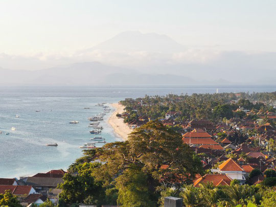 Panorama Punkt auf Nusa Lembongan