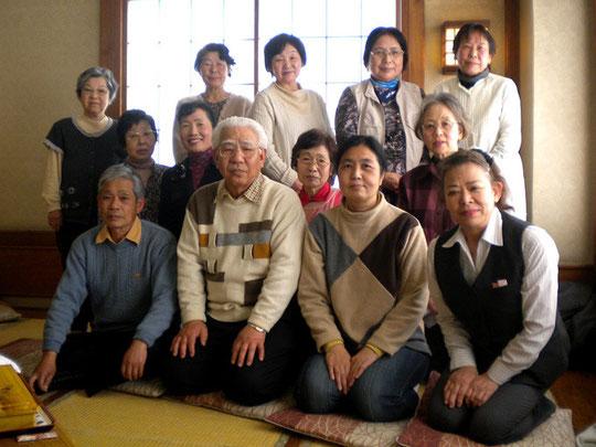 2012年4月7日 魚河岸料理田沼で昼食会