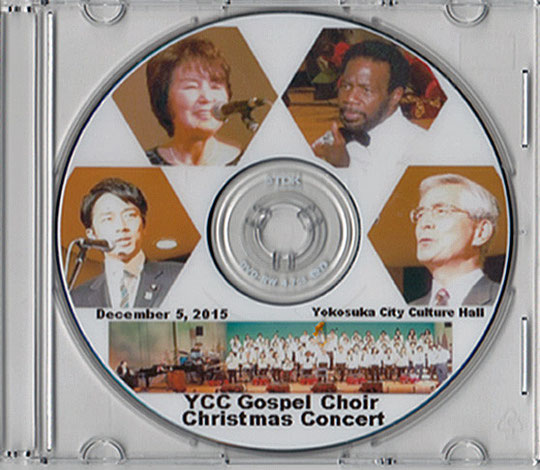 CD-ROM-YCC  Cospel Qhoir 2015 Christmas Concert